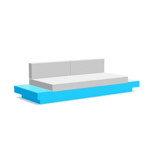 Platform One Sofa with Tables