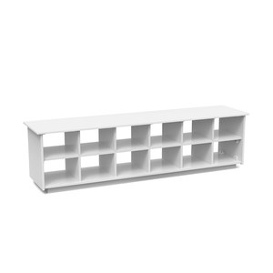 Cubby Shoe Bench (65 inch)