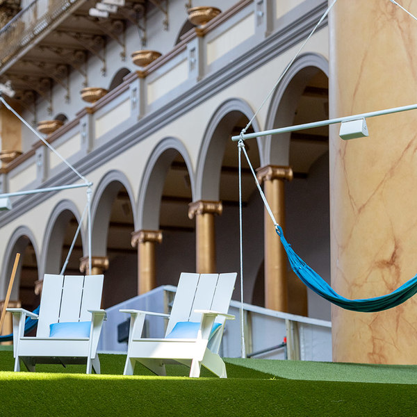 Lawn at National Building Museum